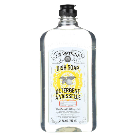 J.r. Watkins Dish Soap - Liquid - Lemon - 24 Oz