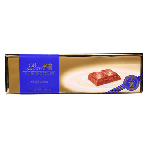 Lindt - Bar Swiss Milk Chocolate - Case Of 10-10.5 Oz