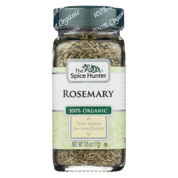 Spice Hunter 100% Organic Spice - Rosemary - Case Of 6 - .6 Oz