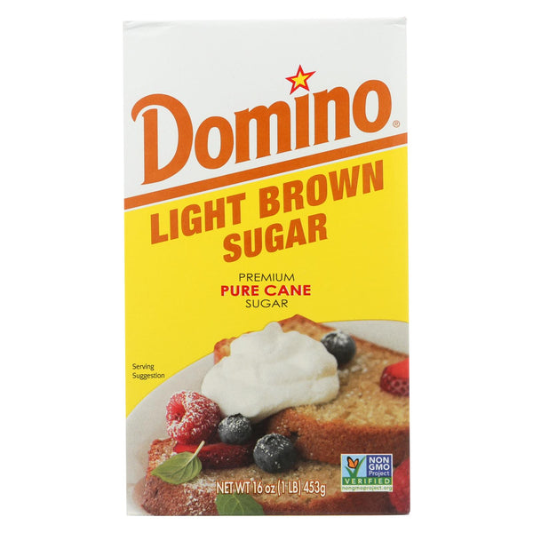 Domino Sugar - Light Brown - Case Of 24 - 1 Lb