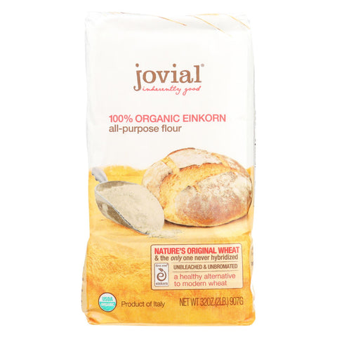 Jovial - Flour - Organic - Einkorn - All-purpose - 32 Oz - Case Of 10