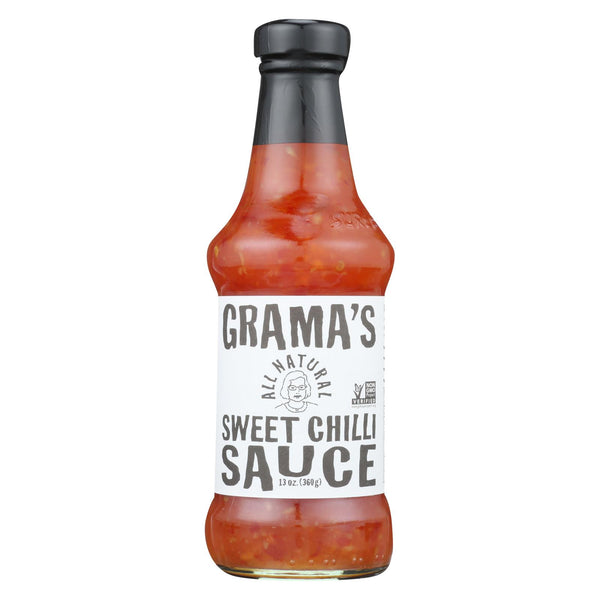 Grama's Gramas Sweet Chilli Sauce - Case Of 6 - 13 Oz