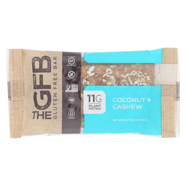 The Gluten Freeb Bar - Cashew Coconut - Gluten Free - Case Of 12 - 2.05 Oz