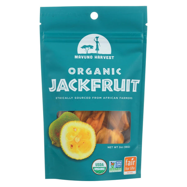 Mavuno Harvest - Organic Dried Fruit - Dried Jackfruit - Case Of 6 - 2 Oz.