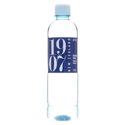 1907 - New Zealand Artesian Water - Case Of 24 - 16.9 Fl Oz.
