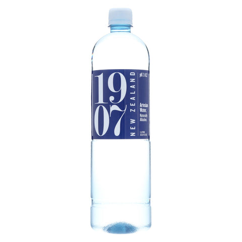 1907 - New Zealand Artesian Water - Case Of 12 - 33.8 Fl Oz.