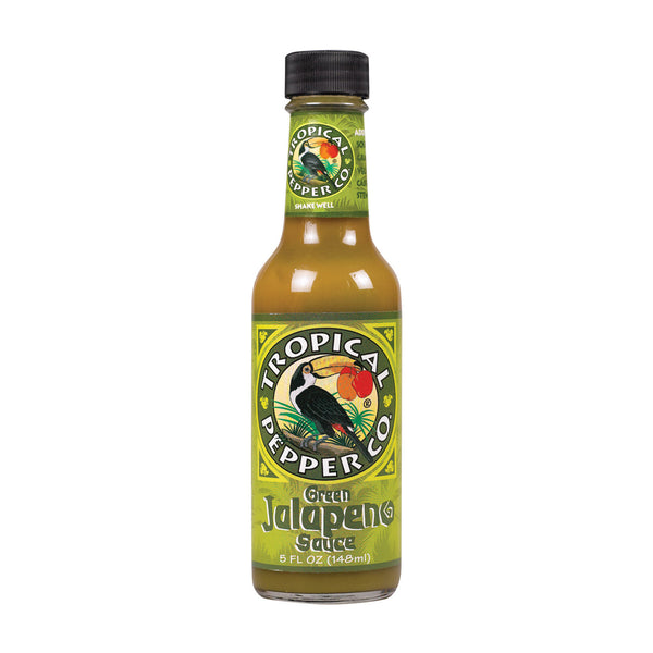 Tropical Pepper Sauce - Green Jalapeno - Case Of 12 - 5 Fl Oz