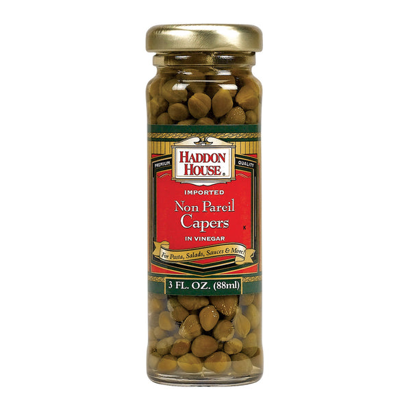 Haddon House Capers - Non Pareil - Case Of 12 - 3.5 Fl Oz