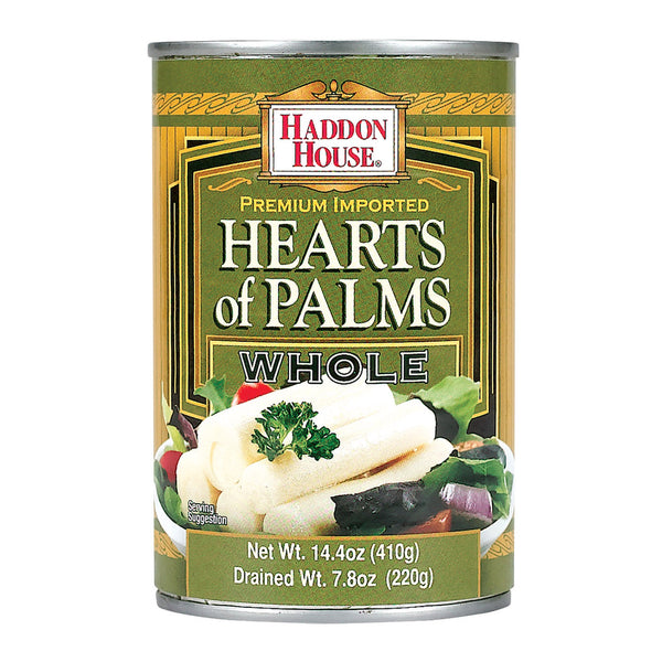 Haddon House Hearts Of Palm - Tin - Case Of 12 - 14.4 Oz