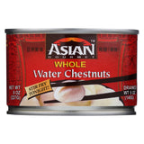 Asian Gourmet Waterchestnuts - Whole - Case Of 12 - 8 Oz