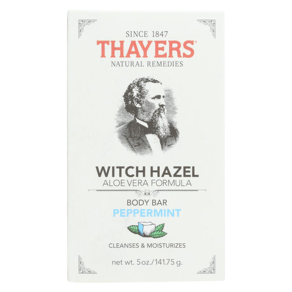 Thayers Body Bar - Witch Hazel And Peppermint - 5 Oz