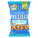 Good Health Pretzels - Sea Salt - Case Of 12 - 8 Oz
