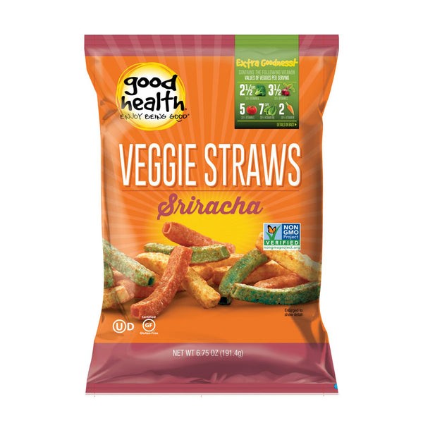 Good Health Veggie Straws - Sriracha - Case Of 10 - 6.75 Oz