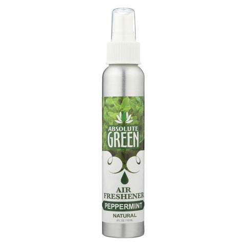 Absolute Green - Air Freshener Peppermint - Case Of 12-4 Oz