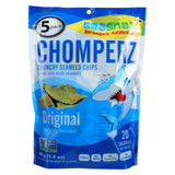 Seasnax Original Chomperz - 5 Pack - Case Of 8 - 1.4 Oz.