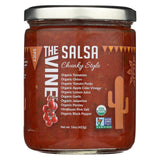 The Vine - Chunky Style Salsa - Spicy - Case Of 6 - 16 Oz.