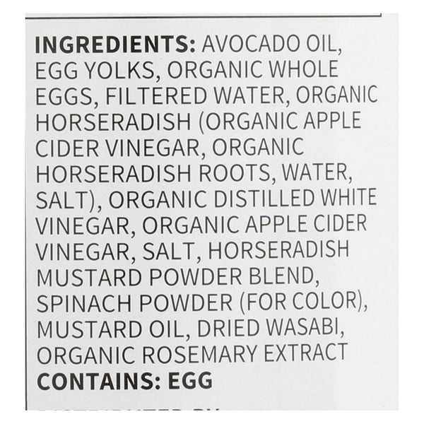 Chosen Foods Avocado Oil Mayo - Wasabi - Case Of 6 - 12 Fl Oz