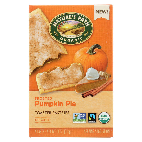 Nature's Path Toaster Pastry - Organic - Pumpkin - Case Of 12 - 11 Oz