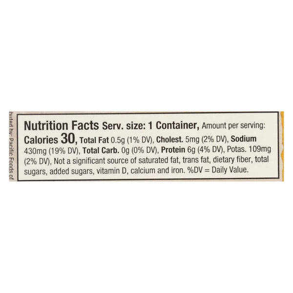Pacific Natural Foods Stock - Organic - Chicken - Case Of 12 - 8 Fl Oz