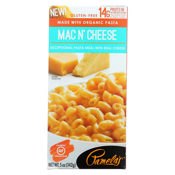 Pamela's Products - Pasta Meal - Organic - Macaroni And Cheese - Case Of 12 - 5 Oz