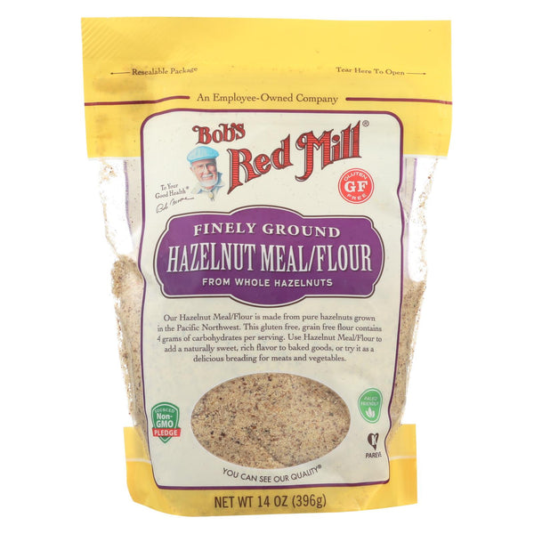 Bob's Red Mill - Meal-flour - Hazelnut - Case Of 4 - 14 Oz