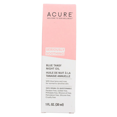 Acure - Oil - Tansy - Soothing Blue - 1 Fl Oz