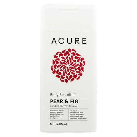 Acure - Conditioner - Pear - Body Beautiful - 12 Fl Oz