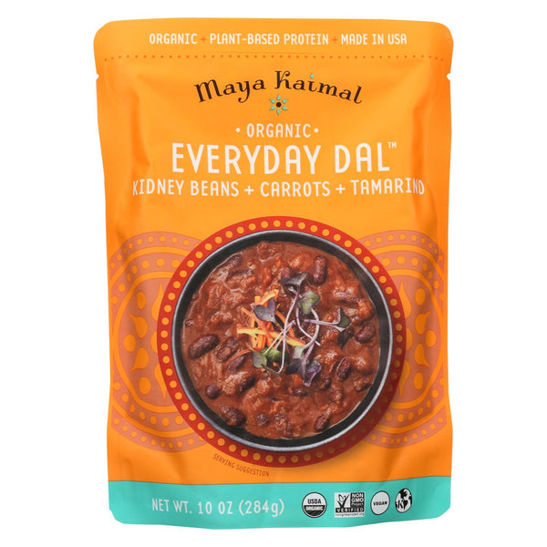 Maya Kaimal - Organic Everyday Dal - Kidney Bean Carrot Tamarind - Cs Of 6 -10 Oz