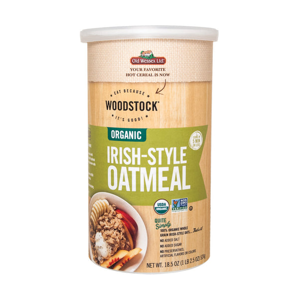 Woodstock Organic Irish-style Oats - 18.5 Oz.