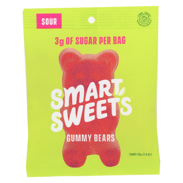 Smartsweets - Gummy Bear Sour - Case Of 12 - 1.8 Oz