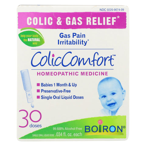 Boiron - Colic Comfort - Colic And Gas Relief - 30 Count