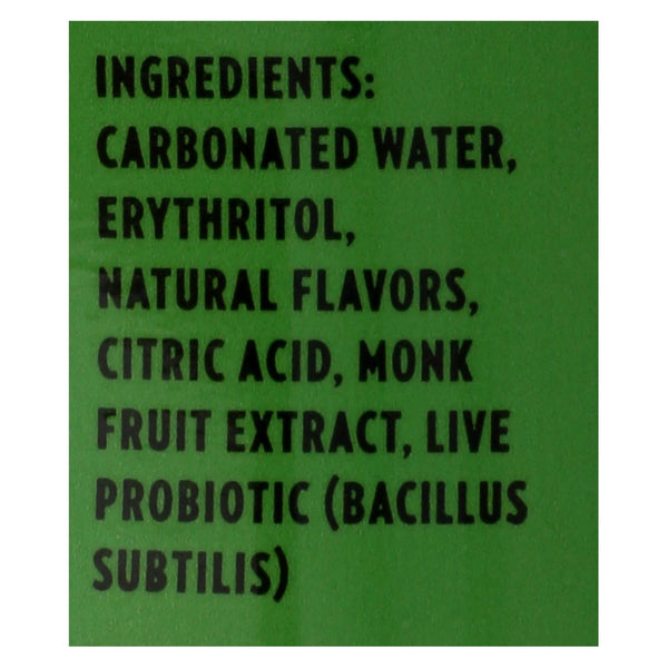 Live Soda - Soda Lemon Lime Probiotic - Case Of 4-6-12 Fl Oz.
