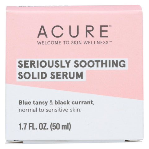 Acure - Solid Serum - Seriously Soothing - 1.7 Fl Oz.