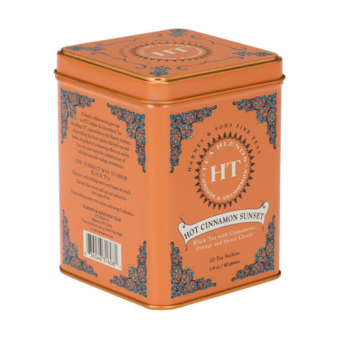 Harney And Sons - Tea - Hot Cinnamon Spice - Case Of 4 - 20 Count