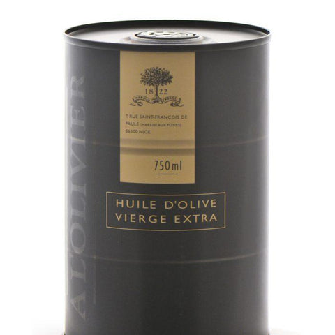 A LOLIVIER: Oil Olive in Drum, 25.36 oz