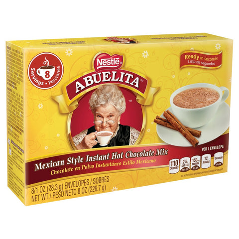 ABUELITA: Instant Hot Chocolate Mix 8-1oz, 8 oz