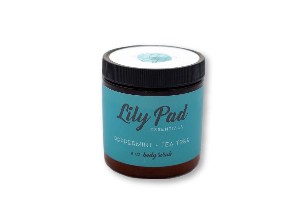 Peppermint + Tea Tree Body Scrub