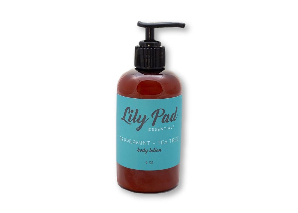 Peppermint + Tea Tree Body Lotion