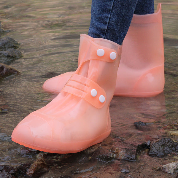 Rain Flats Ankle Boots