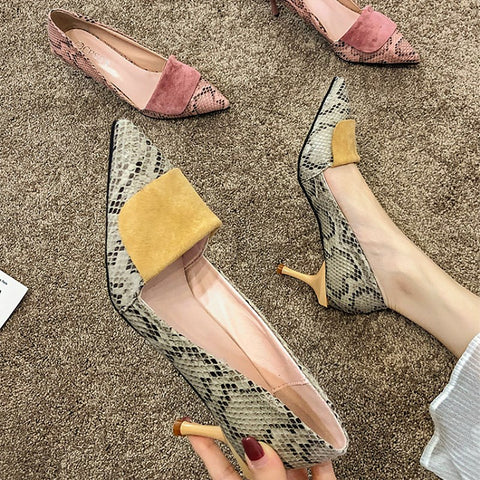 Fashion French Heels Shoes