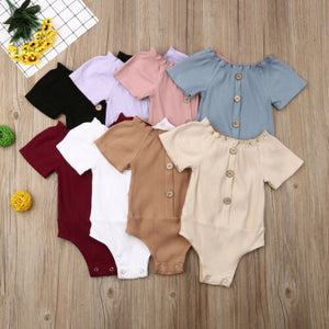 Summer Newborn Infant Baby  Clothes