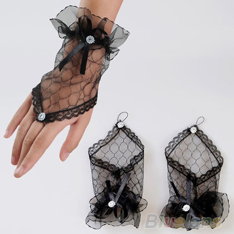 Evening Party Short Gloves