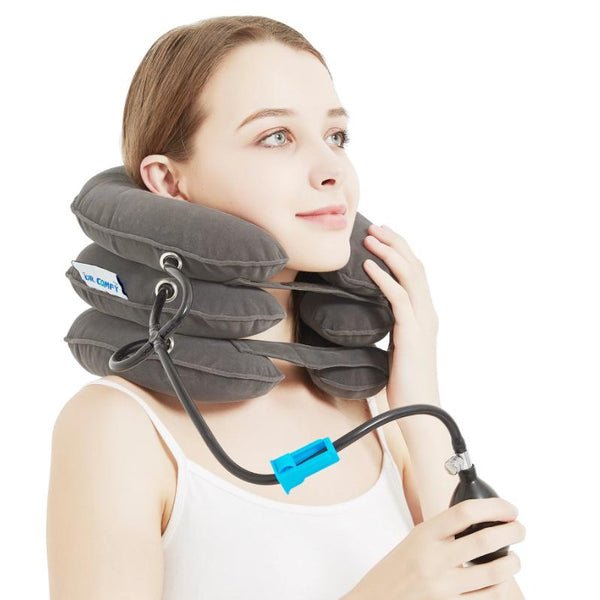 Neck Traction Device(Gray)