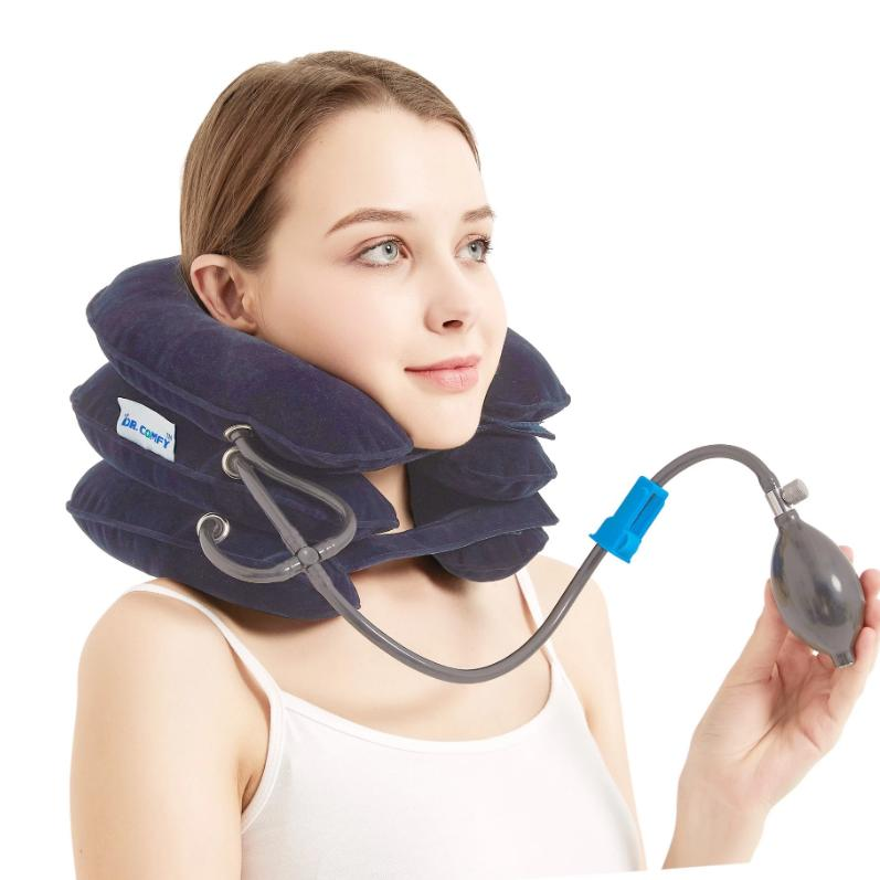 Neck Traction Device(Blue)