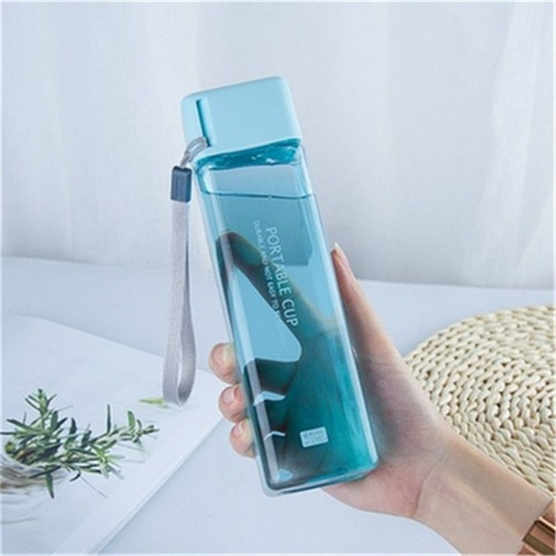 Frosted Portable Water Bottle