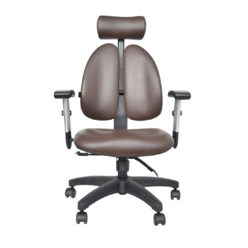 Progress Health OrthoSeries VII Brown Leather Series Chair