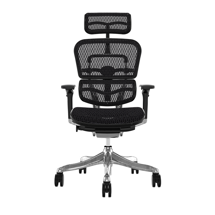 Ergohuman Plus Elite Black Mesh Chair
