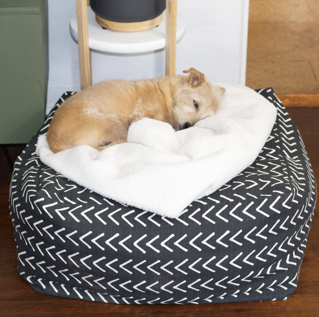How to sew an easy pet bed: DIY sewing tutorial featured image