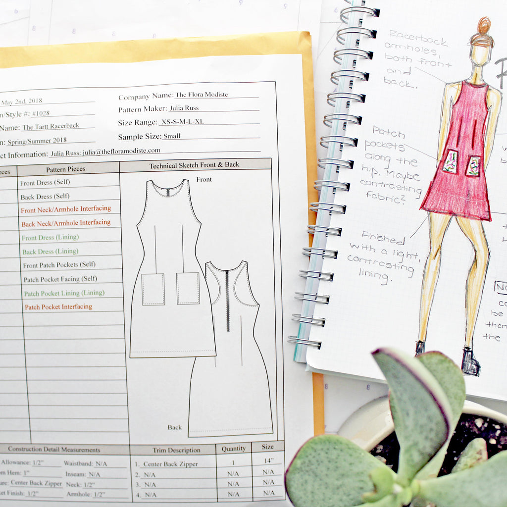 Organizing My Sewing Space Pattern Card Featured Image