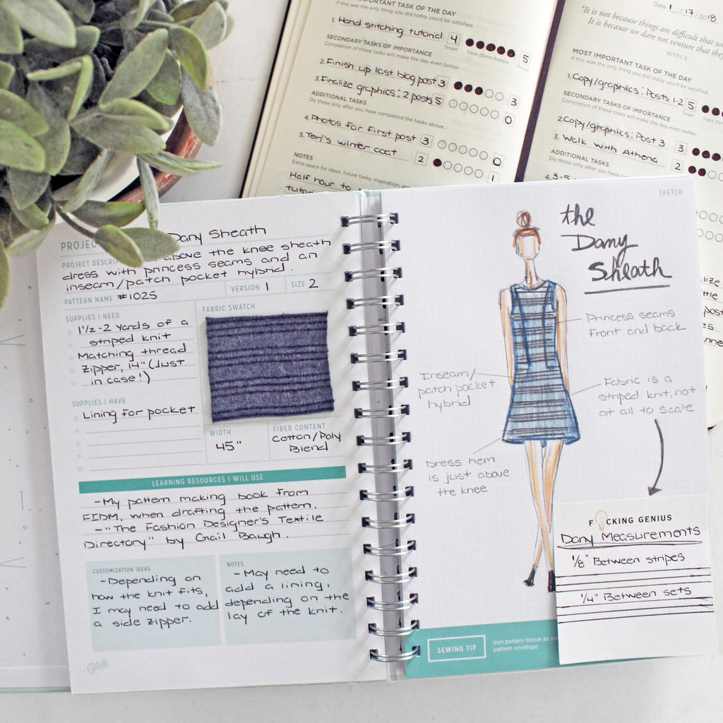 Sewing Project Planner Featured Image